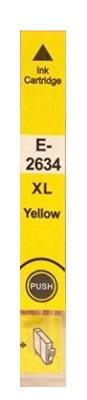 Inkoust T2634 kompatibilní s Epson T2634 / 26XL, žlutý, 12 ml !!
