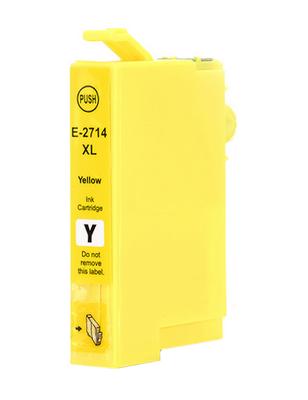 Inkoust T2714 kompatibilní s Epson T2714 / 27XL, žlutý, 17 ml !!