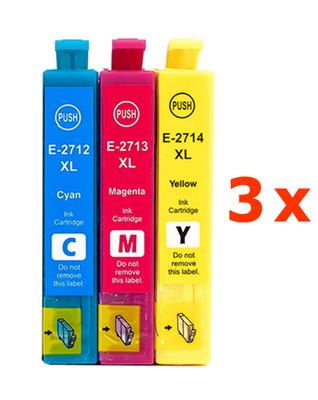 ** Sada 9 inkoustů T2712,3,4  / 27XL do Epson se slevou 20 % !!