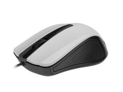 Gembird optická myš 1200 DPI, USB, bílo-černá, 3 tlačítka - 1