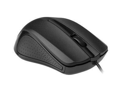 Gembird optická myš 1200 DPI, USB, černá, 3 tlačítka - 1