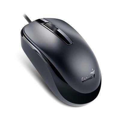 Genius optická myš DX-120, 1200 DPI, USB, černá, 3 tlačítka