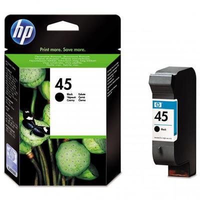 Inkoust HP 45 / 51645A originální, černý, 42 ml