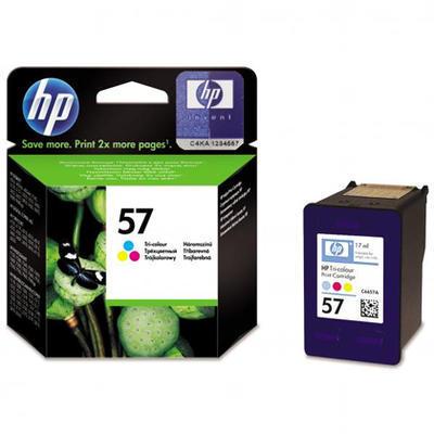 Inkoust HP 57 / C6657A originální, barevný, 17 ml