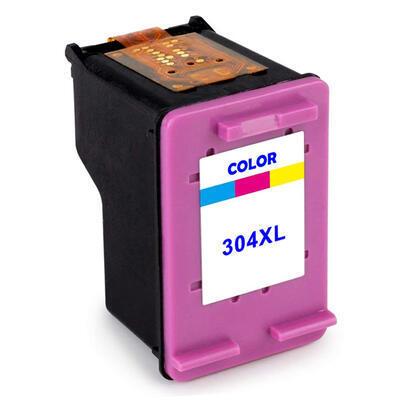 Inkoust HP 304XL / N9K07AE kompatibilní, barevný, 18 ml !! --- 2,6 x více inkoustu