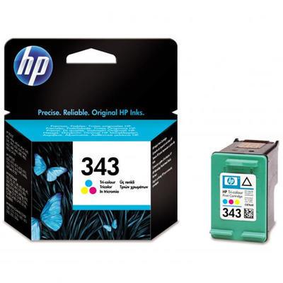 Inkoust HP 343 / C8766E originální, barevný, 7 ml