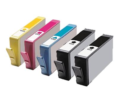 ** Sada 5 inkoustů HP 655 / CZ109, CZ110, CZ111, CZ112, CMYK se slevou 12 % !!
