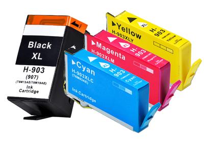 ** Sada 4 inkoustů HP 903XL / T6M15AE, T6M03AE, T6M07AE, T6M11AE se slevou 10 % !!