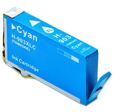 Inkoust HP 903XL / T6M11A kompatibilní, azurový, 13 ml !!