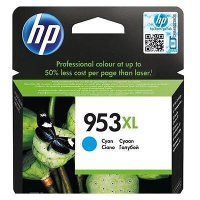 Inkoust HP 953XL / F6U16AE originální, azurový, 20 ml !!