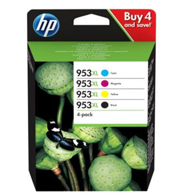 ** Inkousty HP 953XL / 3HZ52AE originální, multipack, 4 barvy