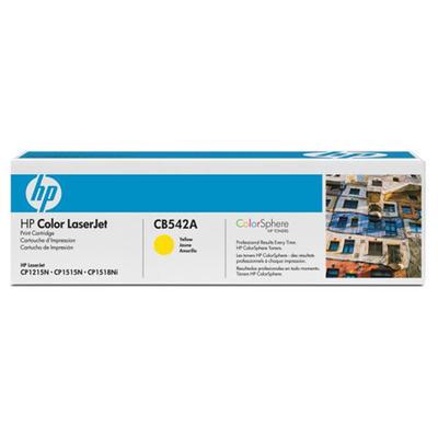 Toner HP CB542A, originální, žlutý, 1.400 str.