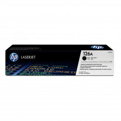 Toner HP CE310A / 126A originální, černý, 1.200 str.