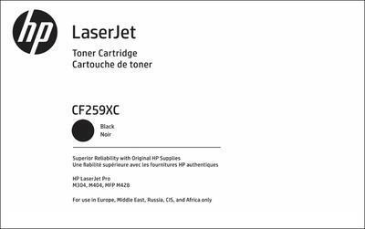 Toner HP CF259XC nebo CF259XH / 59X originální, černý, 10.000 str. !! - 1