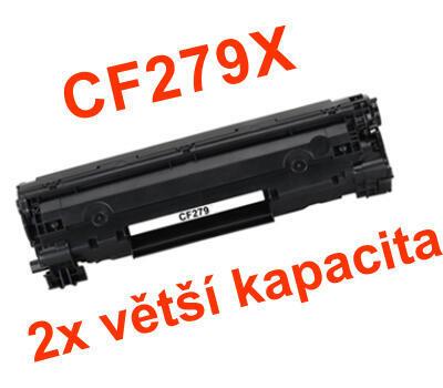 Toner HP CF279X / HP 79X kompatibilní, černý, 2.000 str.