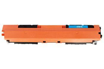 Toner HP CF351A / HP CLJ Pro MFP M176n kompatibilní, azurový, 1.000 str.