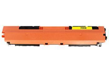 Toner HP CF352A / HP CLJ Pro MFP M176n kompatibilní, žlutý, 1.000 str.