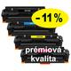 ** Sada 4 tonerů CMYK kompatibilní s HP CF410,1,2,3X se slevou 11 % !! - PRÉMIUM - 1/2