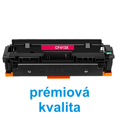 Toner HP CF413X / HP CLJ Pro M452 kompatibilní, purpurový, 5.000 str. !! - PRÉMIUM - 1