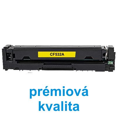 Toner HP CF532A / HP CLJ Pro MFP M180n kompatibilní, žlutý, 900 str. - PRÉMIUM - 1