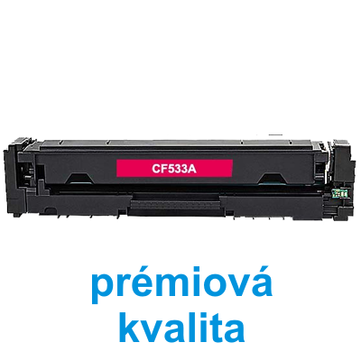 Toner HP CF533A / HP CLJ Pro MFP M180n kompatibilní, purpurový, 900 str. - PRÉMIUM - 1