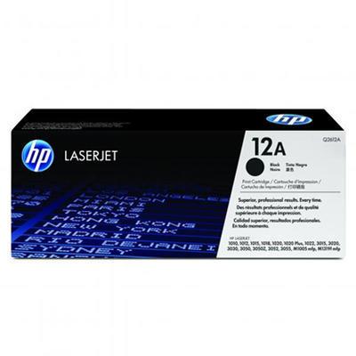 Toner HP Q2612A / 12A originální, černý, 2.000 str.