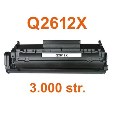 Toner Q2612X kompatibilní s Canon LBP2900, LBP3000, černý, 3.000 str.