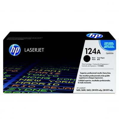 Toner HP Q6000A / 124A originální, černý, 2.500 str.