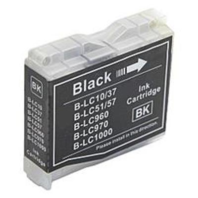 Inkoust LC-1000BK kompat. s Brother LC-1000BK, LC-970BK, černý, 35 ml !!