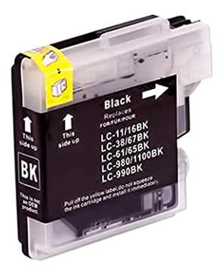 Inkoust LC-1100BK kompatibilní s Brother LC-1100BK, LC-980BK, černý, 22 ml !!