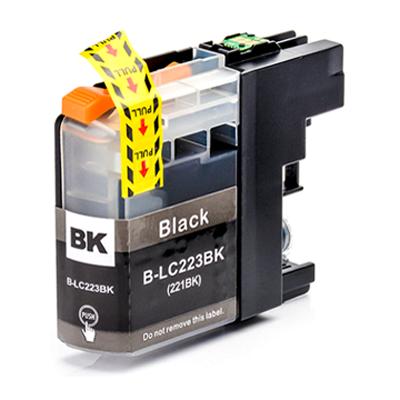 Inkoust LC-223BK kompatibilní s Brother LC-223BK, černý, 16 ml !!