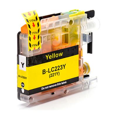 Inkoust LC-223Y kompatibilní s Brother LC-223Y, žlutý, 10 ml !!