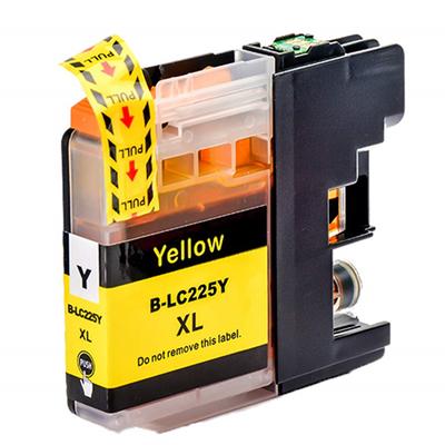 Inkoust LC-225XL Y kompat. s Brother LC-225XLY, žlutý, 15 ml !!