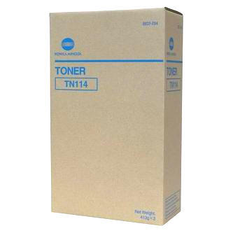 Toner TN-114 do Konica Minolta bizhub 162, 163, 210, originální, balení 2 ks