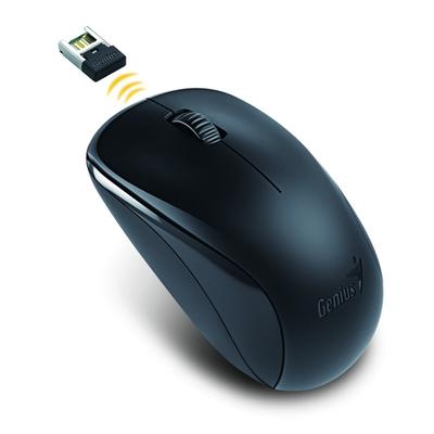 Genius optická myš NX-7000, 1200 DPI, bezdrátová, černá, 3 tlačítka