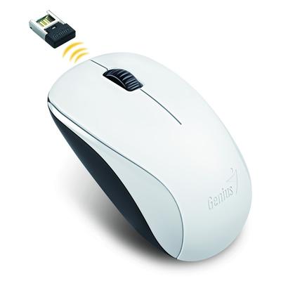 Genius optická myš NX-7000, 1200 DPI, bezdrátová, bílá, 3 tlačítka