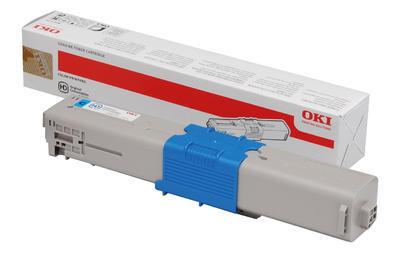 Toner OKI C310, C330, C510, C530 aj. originální, azurový, 2.000 str. - 1