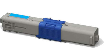 Toner C301C kompatibilní s OKI C301, C321, MC332, MC342 azurový, 1.500 str.