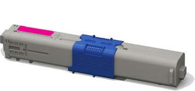 Toner C301M kompatibilní s OKI C301, C321, MC332, MC342 purpurový, 1.500 str.
