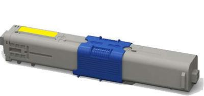 Toner C301Y kompatibilní s OKI C301, C321, MC332, MC342 žlutý, 1.500 str.