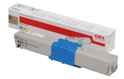 Toner OKI C310, C330, C510, C530 aj. originální, žlutý, 2.000 str. - 1