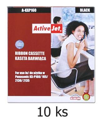 Páska do Panasonic KX-P160, KX-P2130 aj. kompatibilní, černá - 10 ks - sleva 10 %