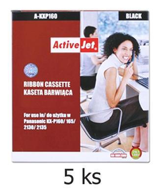 Páska do Panasonic KX-P160,  KX-P2130 aj. kompatibilní, černá - 5 ks - sleva 5 %