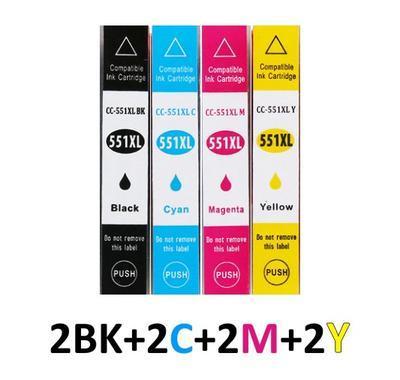 ** Sada 8 inkoustů CLI-551BK XL +CLI-551C,M,Y XL se slevou 15 % !!