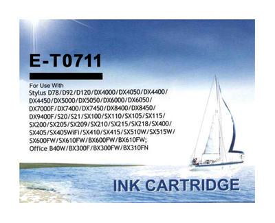 Inkoust T0711 kompatibilní s Epson T0711, černý, 17 ml !!