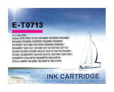 Inkoust T0713 kompatibilní s Epson T0713, purpurový, 12-14 ml !!