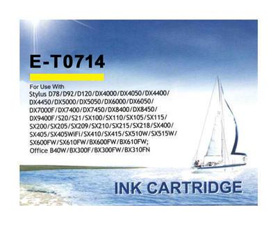 Inkoust T0714 kompatibilní s Epson T0714, žlutý, 12 ml !!