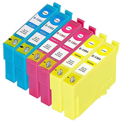 ** Sada 6 inkoustů T1302,3,4 / 13XL do tiskáren Epson se slevou 15 % !!