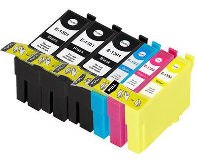 ** Sada 6 inkoustů T1301,2,3,4 / 13XL do tiskáren Epson se slevou 15 % !!
