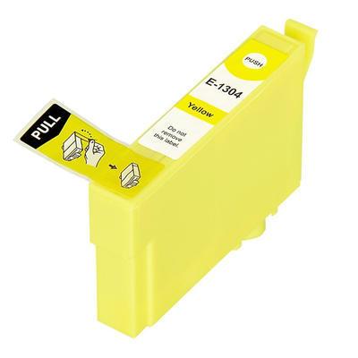 Inkoust T1304 kompatibilní s Epson T1304 / 13XL, žlutý, 18 ml !!